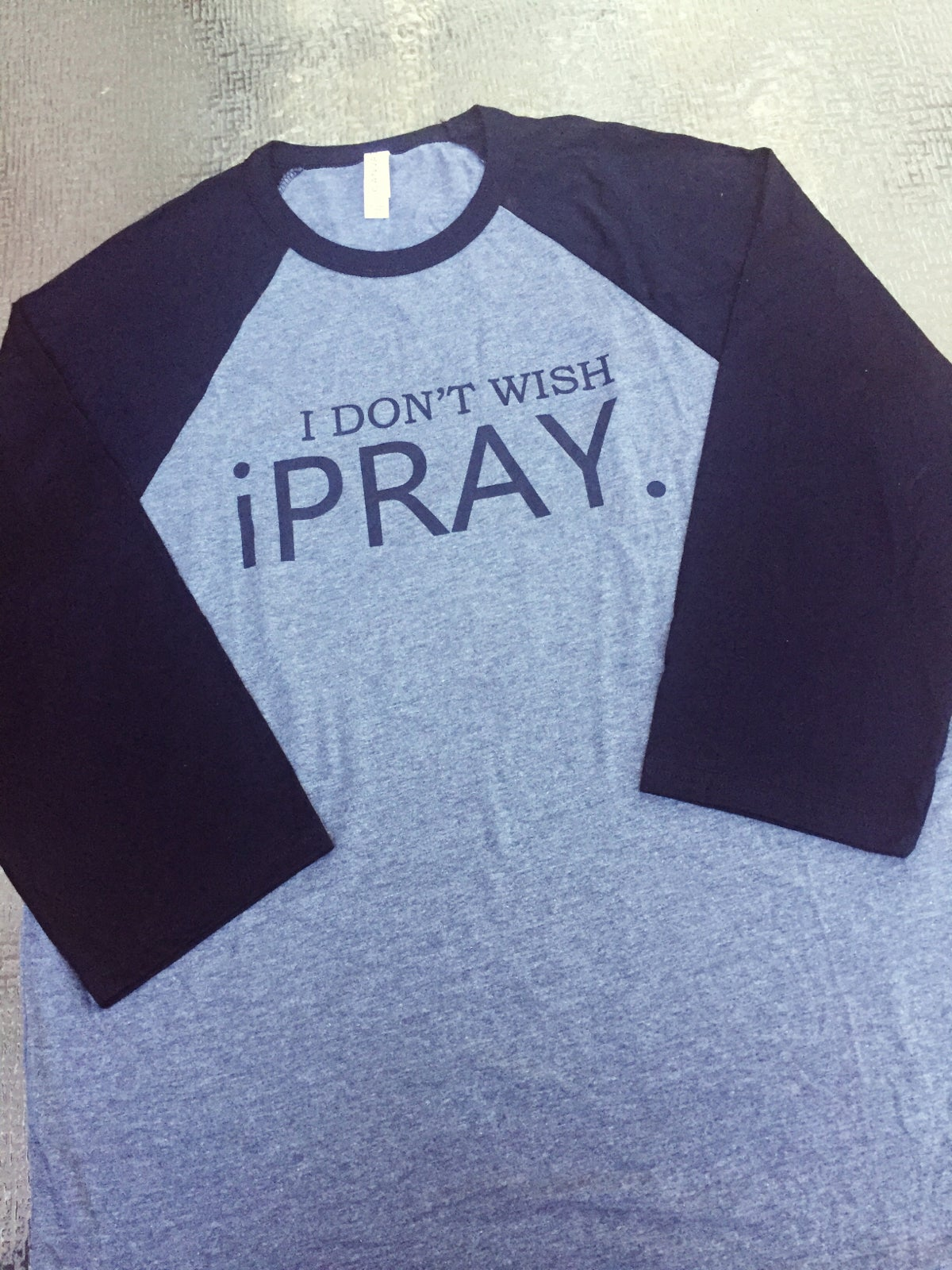 Image of Men's iPRAY Baseball Tee
