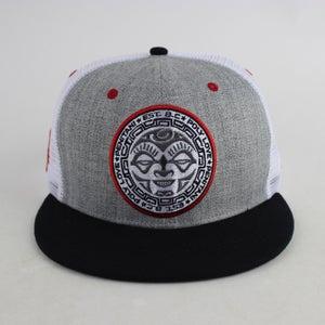 Image of Tahiti Trucker Hat  (gray/white)