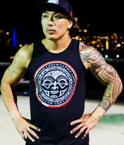 Image of Tahiti Tank Top  (black)