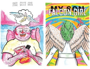Image of My Son Falcon Girl (preorder)