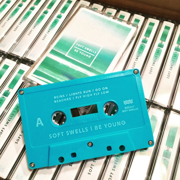 "Image of Soft Swells ""Be Young"" Cassette (PRE-ORDER)"