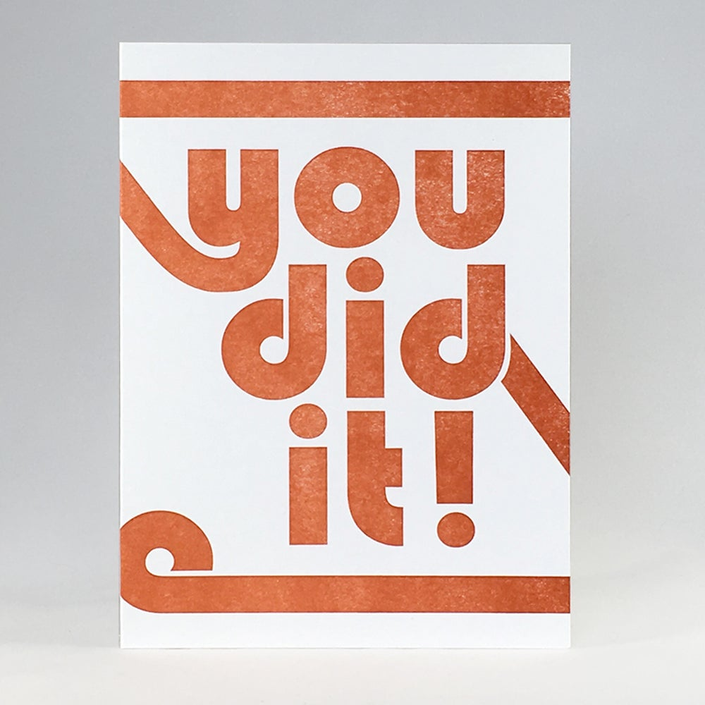 Image of you did it!