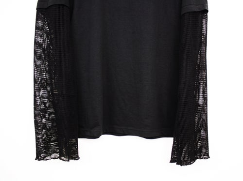 Image of SNIPER MESH SLEEVE (tactical tee-black)