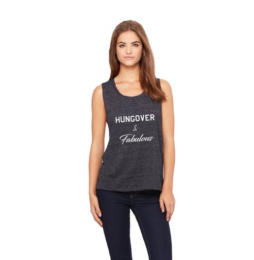 Image of Hungover & Fabulous - muscle tanks