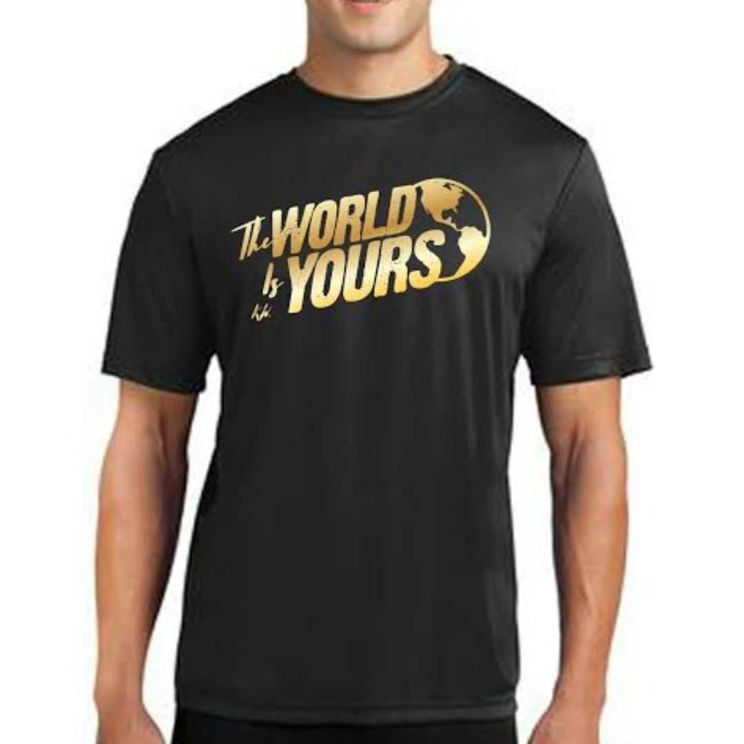 Image of TWIY APPAREL TSHIRT BLACK&GOLD