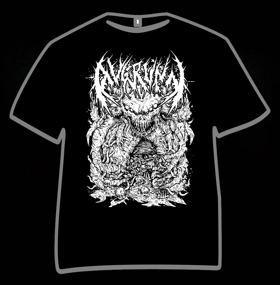 "Image of T-SHIRT ""DOOMBEAST"" BLACK"