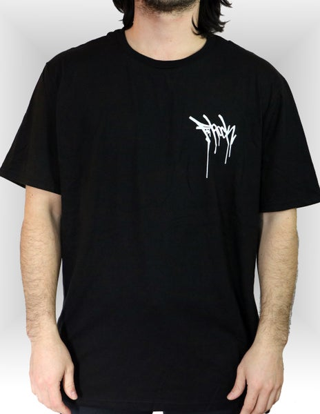 Image of Drip Tee - Black/White