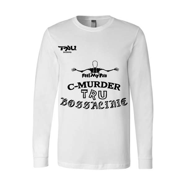 Image of C-Murder Tattoos Longsleeve White