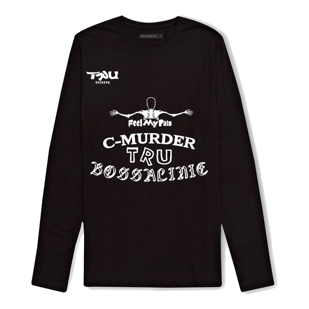 Image of C-Murder Tattoos Longsleeve Black