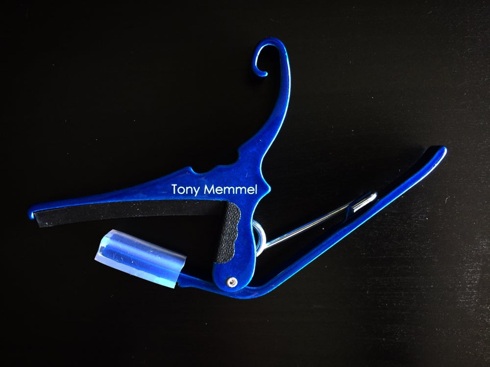 Image of Blue - Tony Memmel guitar capo