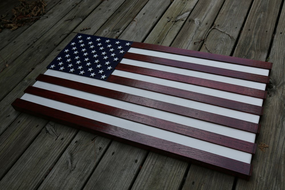 Image of American Fire Hose Flag