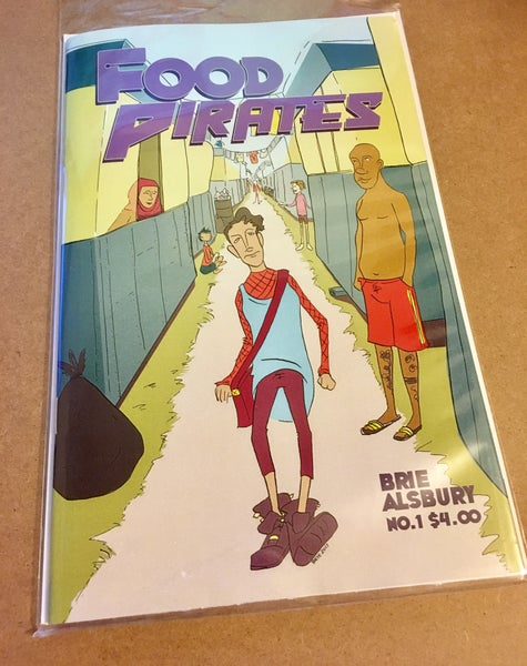 Image of Food Pirates #1 Basically? Everything is terrible.  (soft cover)