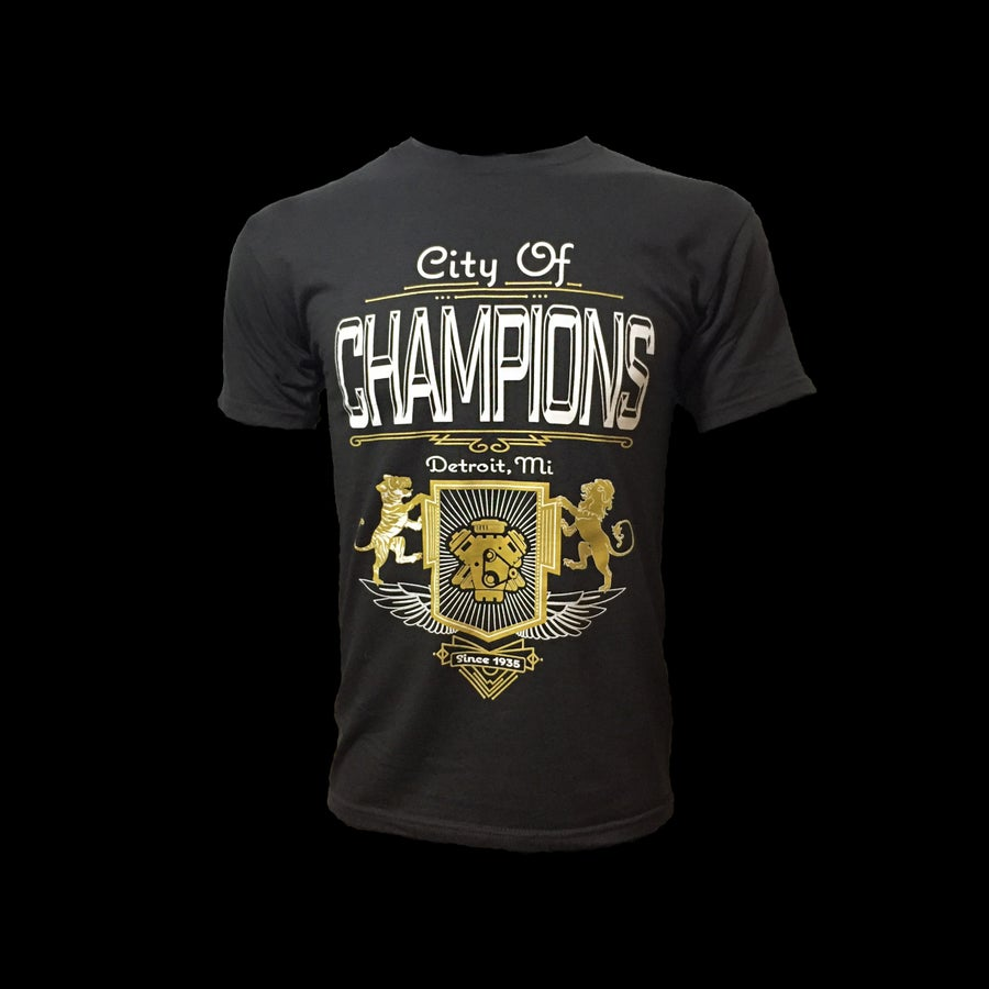 Image of City of Champions | T-shirt (Tar)