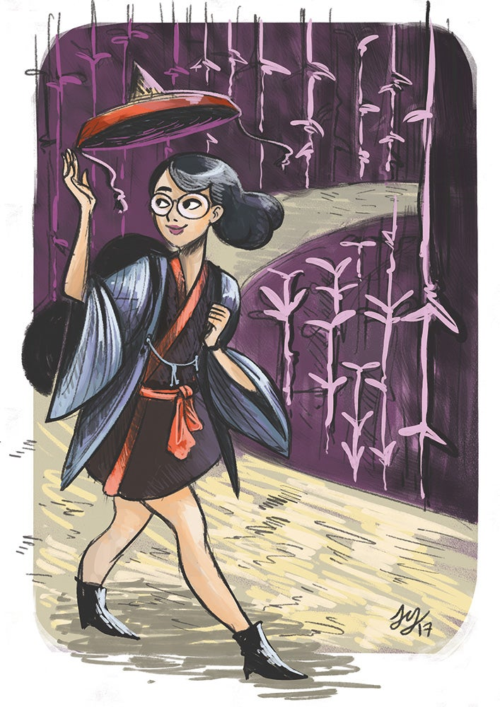 Image of Travel Witch Print