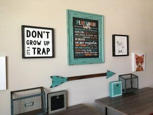 Image of Playroom Rules Chalkboard