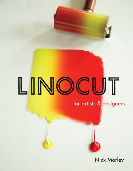 Image of Linocut for Artists and Designers - signed book