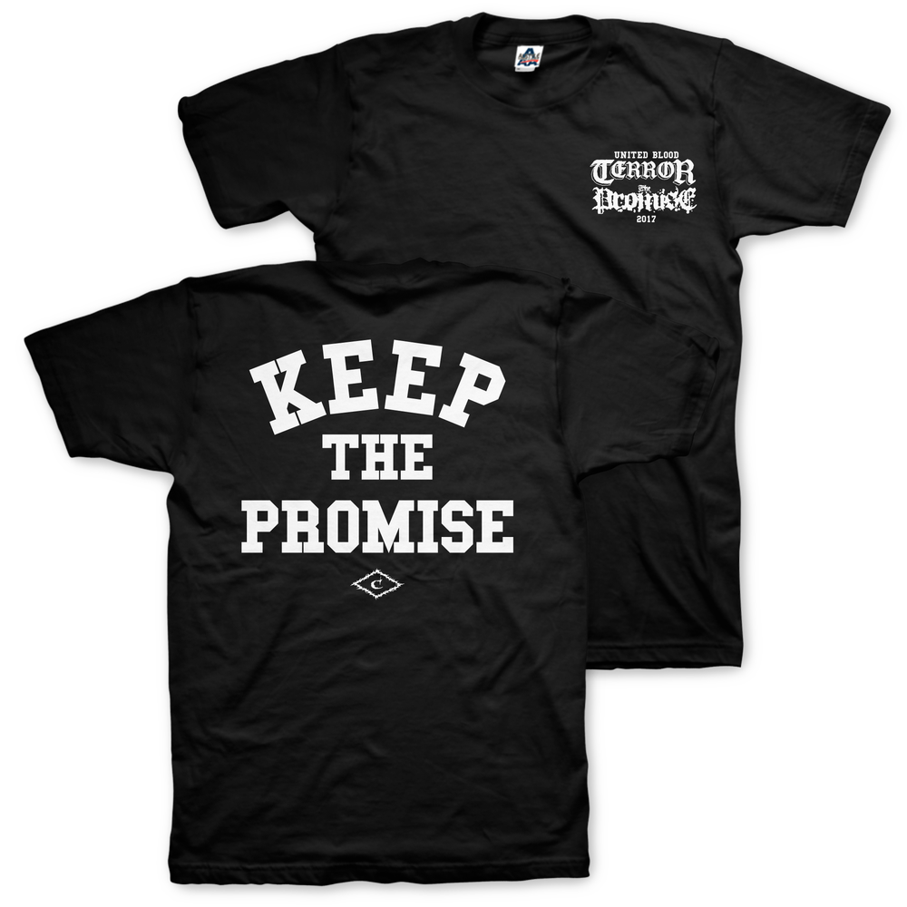 Image of The Promise X Terror collab (United Blood 2017)