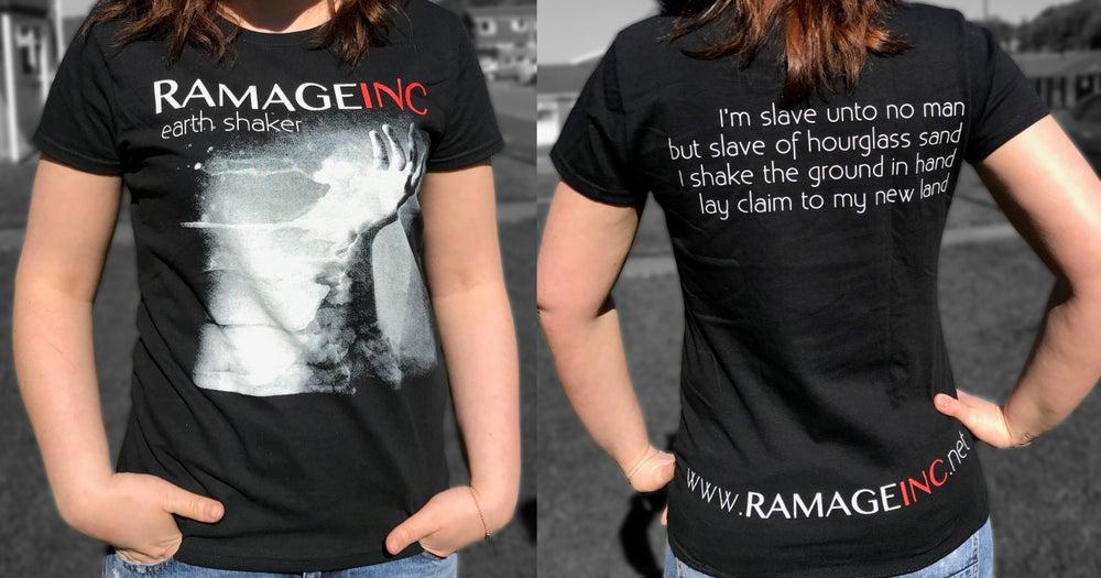 "Image of Ramage Inc ""Earthshaker"" T-shirt"
