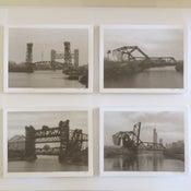 Image of Chicago Railroad Bridges 2017, set of 4