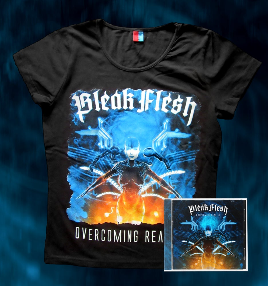 Image of Overcoming Reality Bundle CD+T-SHIRT