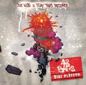 "Image of 48 BARS WITH DIRT PLATOON - 12"" vinyl"