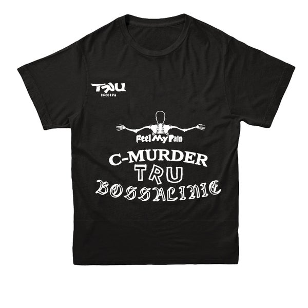 Image of C-Murder Tattoos Shortsleeve Black