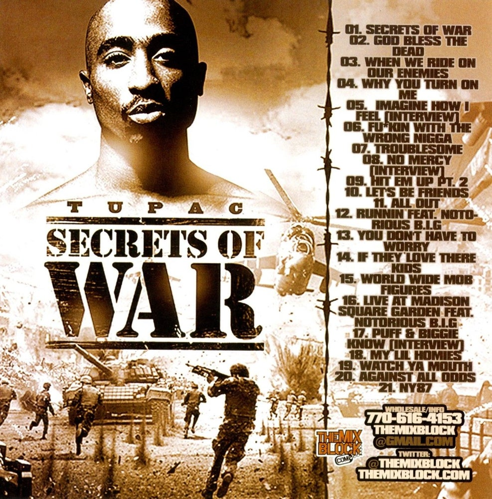 Image of Tupac: Secrets Of War
