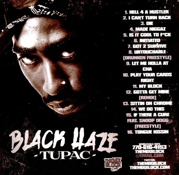 Image of Tupac: Black Haze