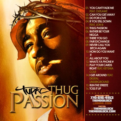 Image of Tupac: Thug Passion