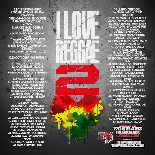 Image of I Love Reggae 2