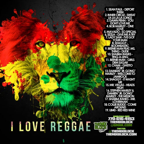 Image of I Love Reggae