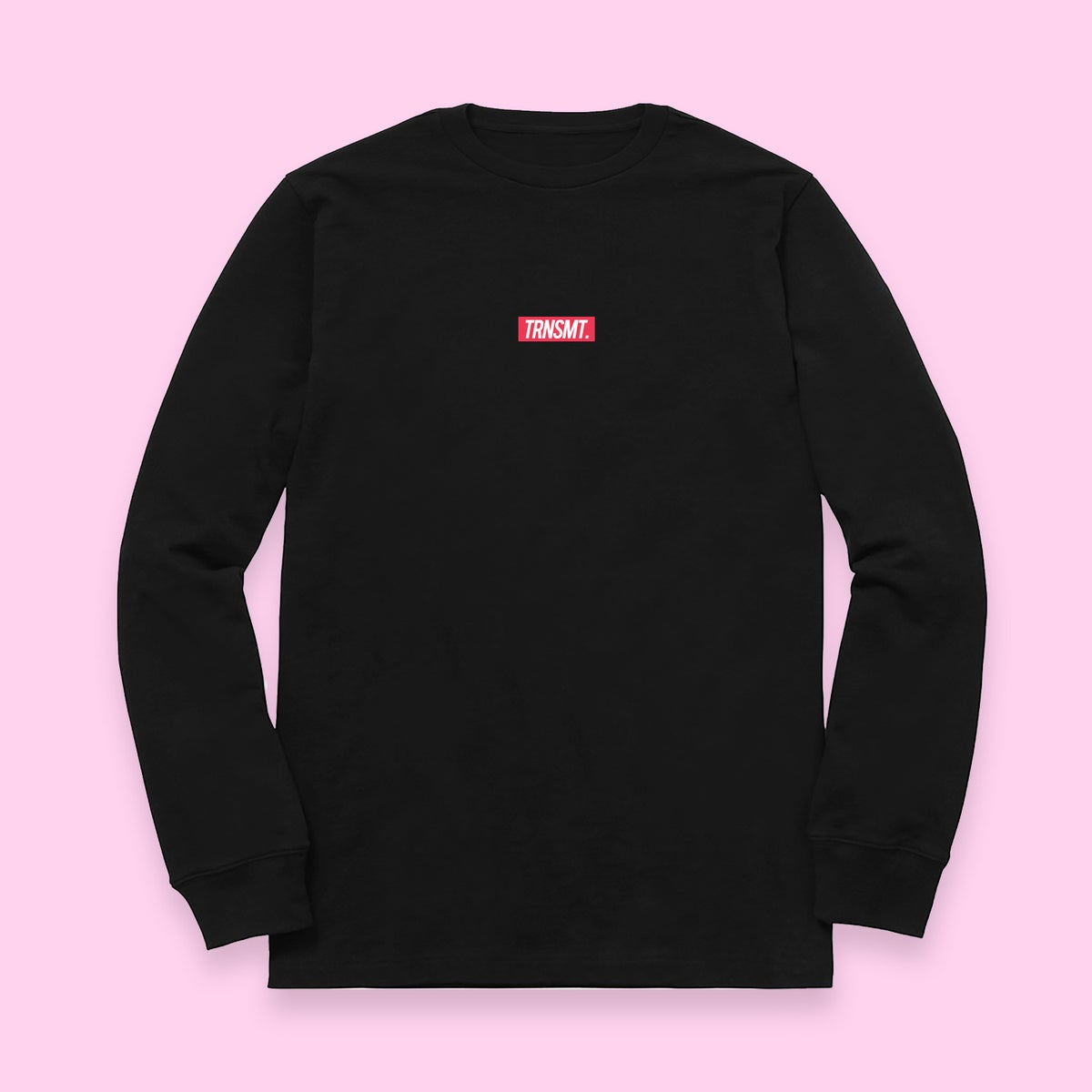 Image of Hill Longsleeve Tee - Black