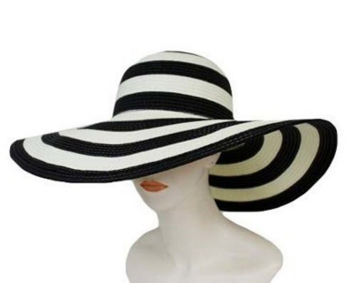 Image of Striped Floppy Hat