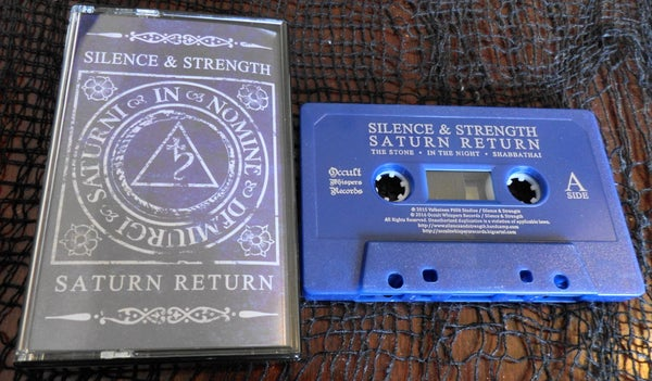 "Image of Silence and Strength ""Saturn Return"" cassette"