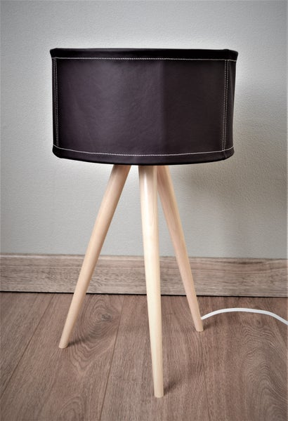 Image of Leather Table Lamp