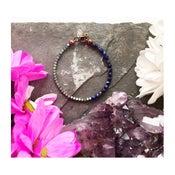 Image of Wish Bracelet - Hematite + Sodalite