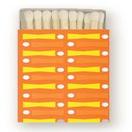 Image of Mod Matches in Tangerine Bowler • 100 Bulk Order