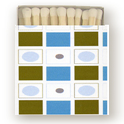 Image of Mod Matches in Turquoise Bowler • 100 Bulk Order