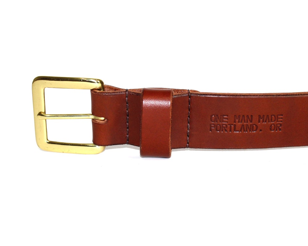 Image of STANDARD BELT - BROWN