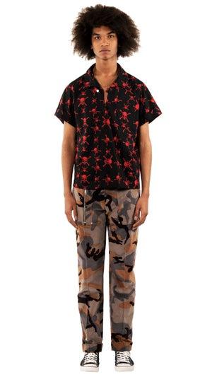 Image of Velvet Camouflage Pant