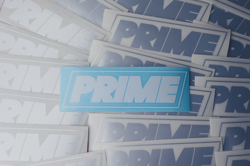 Image of PRIME LOGO DECAL WHITE