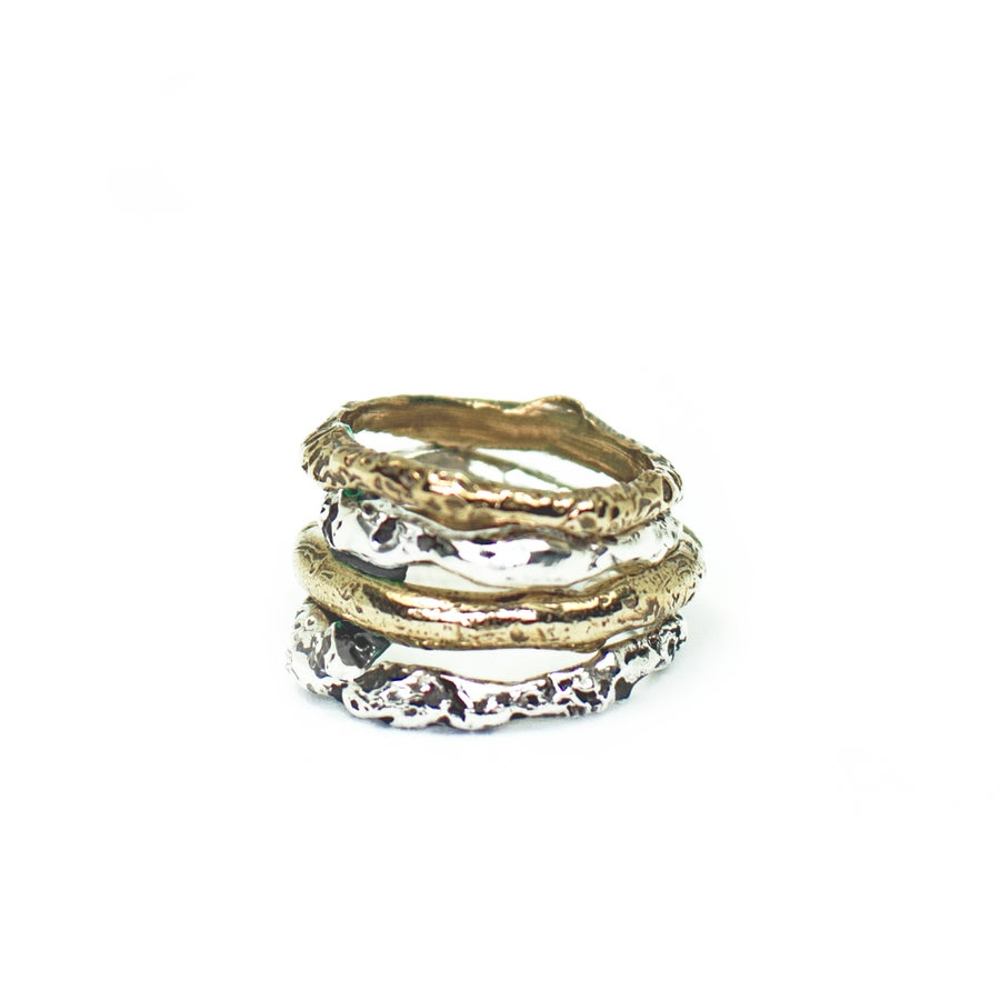 Image of Organic stacking rings | NZ dlls
