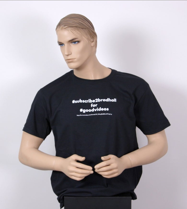Image of Promotional T-Shirt That Promotes My Channel