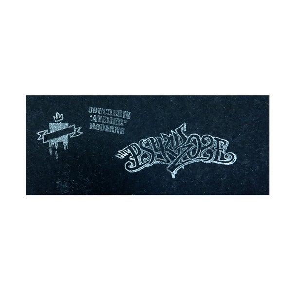 Break the wall / 1 couleur papier noir - PSY la boutik