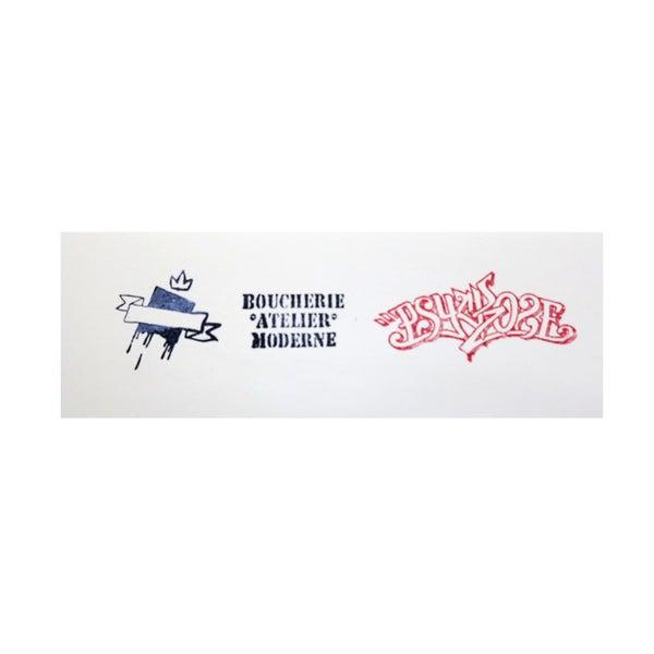 Break the wall / 2 couleurs papier blanc - PSY la boutik
