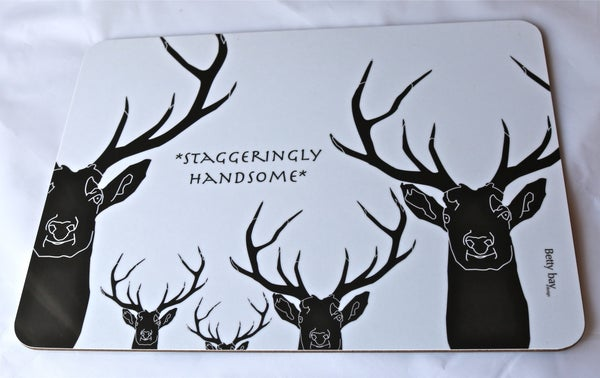 Image of Staggeringly Handsome Melamine Table mat