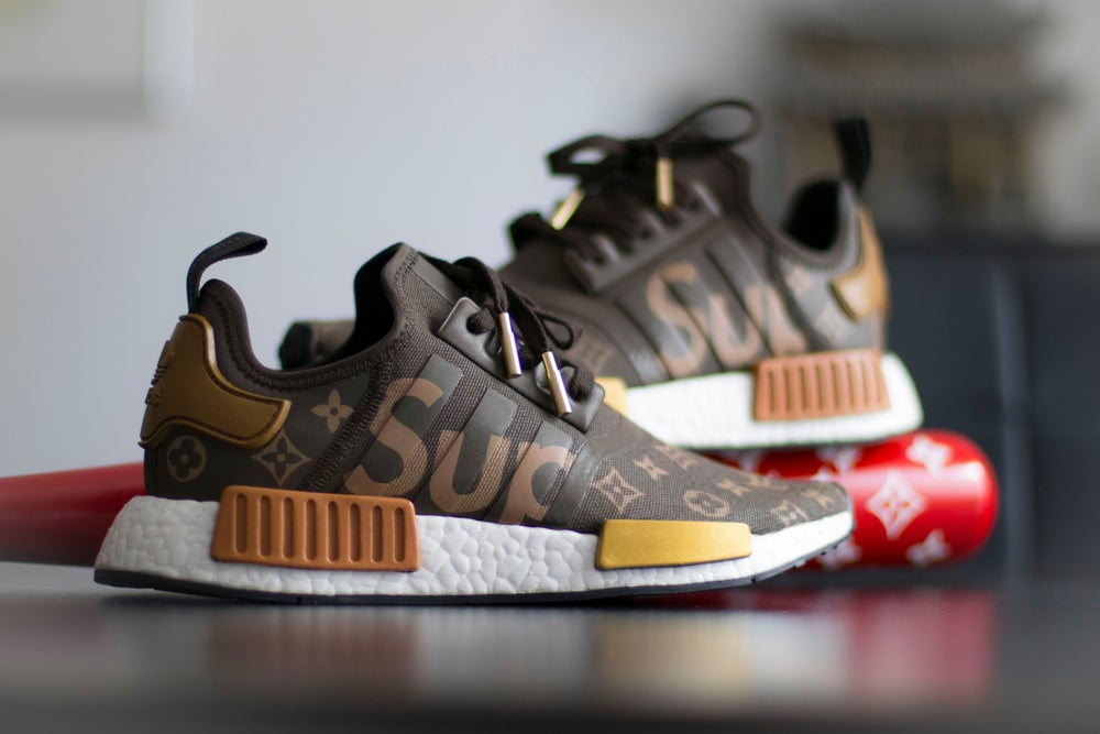 Image of Supreme x Bonsai Louis Vuitton NMD