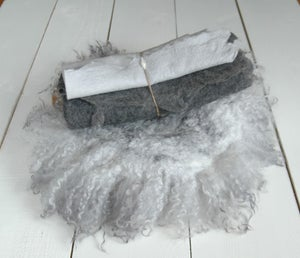 Image of Silver Grey Felted set - 4pc (value of $187)