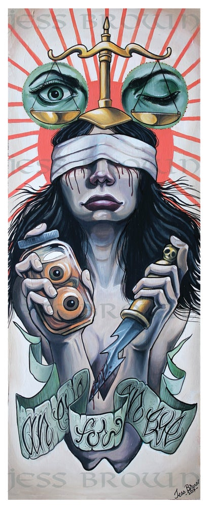 Image of Justice is Blind by Jess Brown
