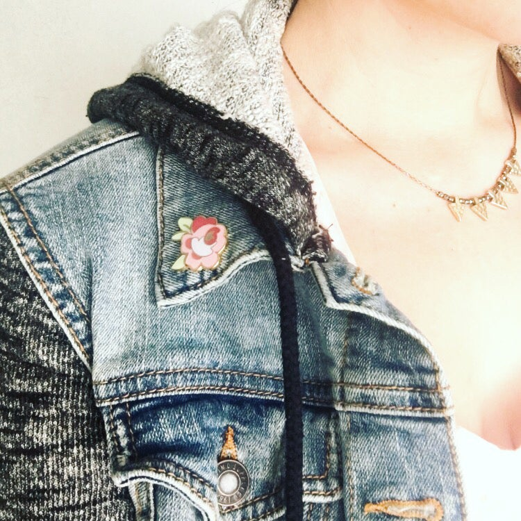 Pocketswithposies Pockets With Posies Enamel Pin